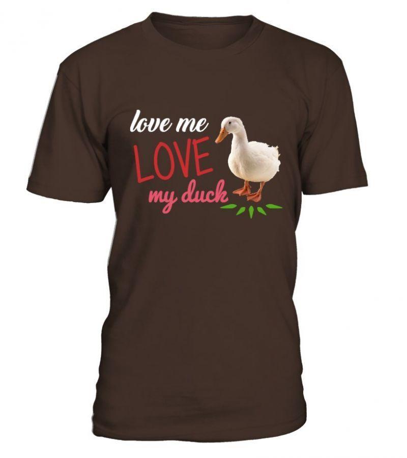 Anaheim Ducks Love Me Love My Duck Shirts