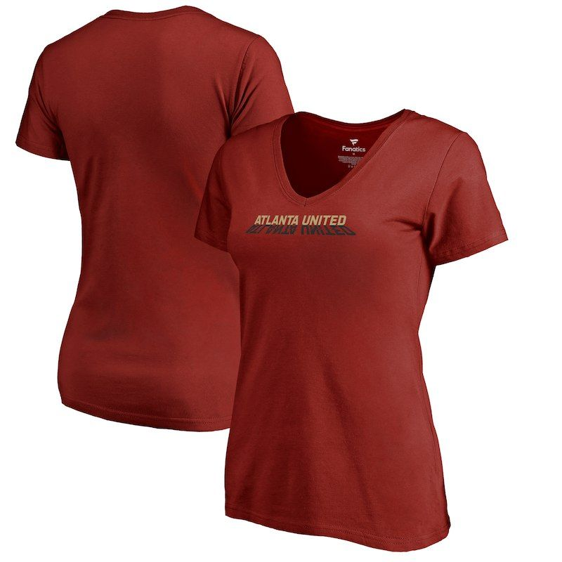 Atlanta United Fc Fanatics Branded Women S League Trend Red Shirts