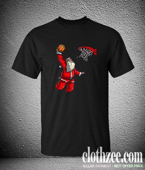 Basketball Santa Christmas Hat Ball Trending Shirts