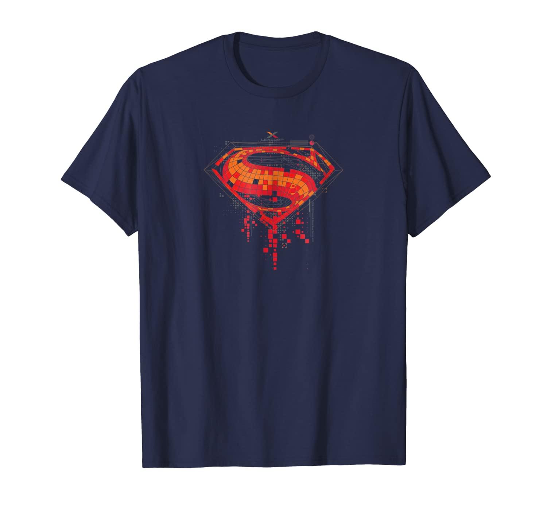 Batman V Superman Tech Super Logo Shirts