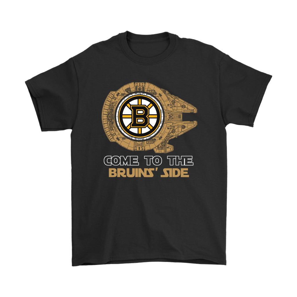 Come To The Boston Bruins Side Star Wars Shirt Who Is Your Favorite Character In The St