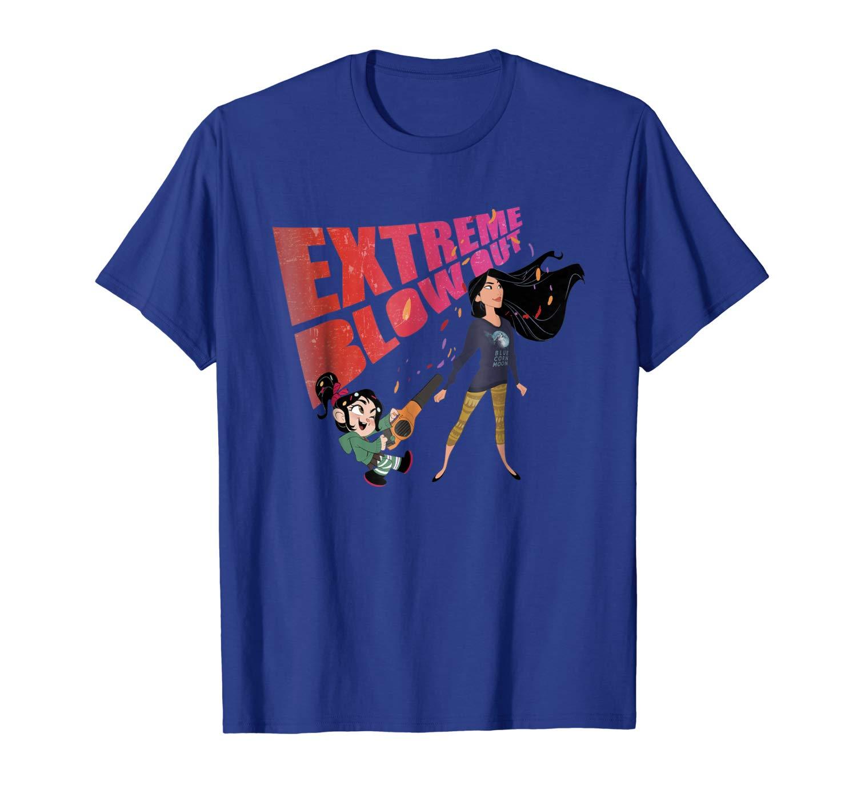 Wreck It Ralph 2 Comfy Princess Pocahontas Shirts