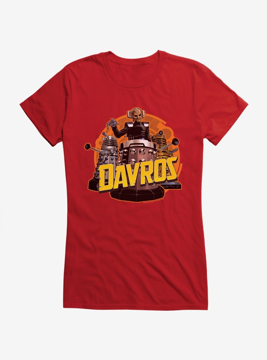 Doctor Who Davros Army Girls Shirts