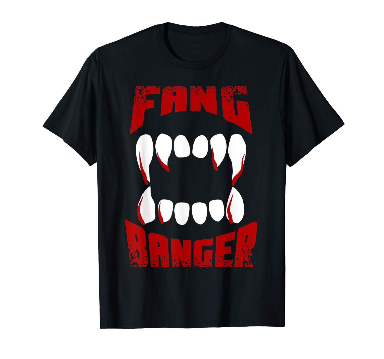 Fang Banger Halloween Love Vampires Shirts