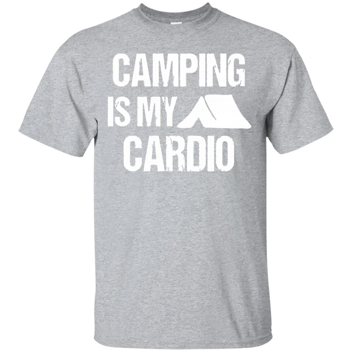 Fortuitous Camping Is My Cardio Camp Hunt Fish Hike Funny Gift Shirts