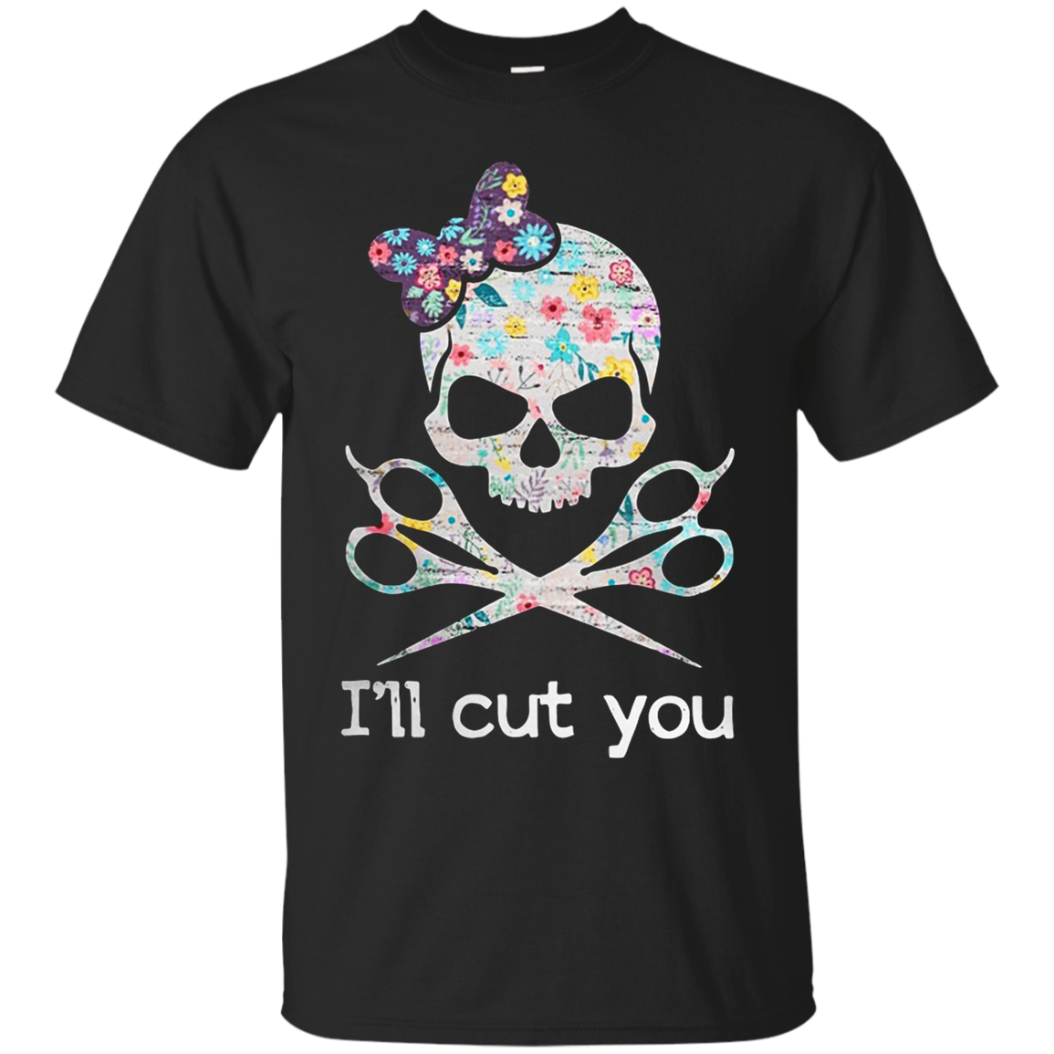 Hairstylist Skull I Shirts
