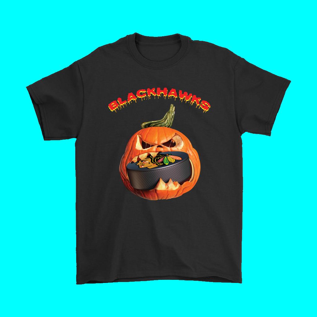 Halloween Pumpkin Chicago Blackhawks Hockey Nhl Halloween Is Coming It S Not Too Shirts