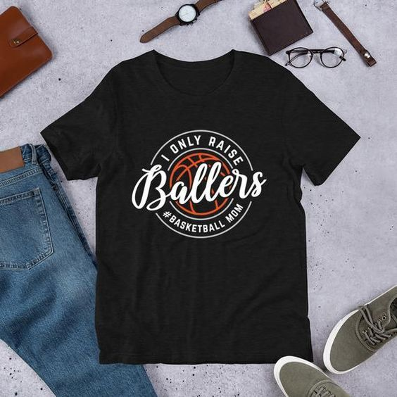Hastag Basketball Mom T Shirt Sn01