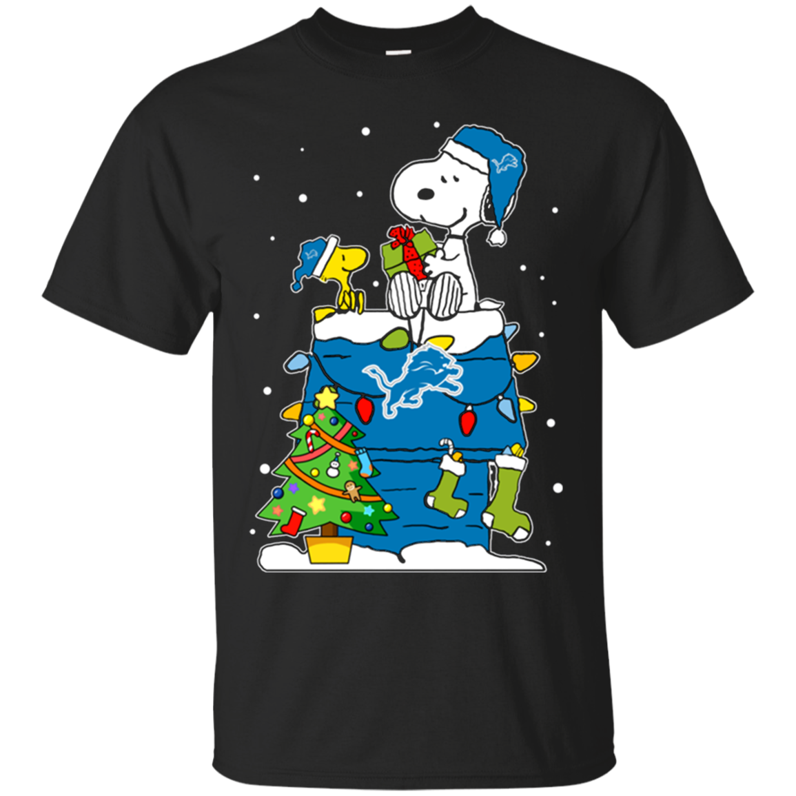 High Quality Detroit Lions Snoopy Ugly Christmas Sweaters Shirts