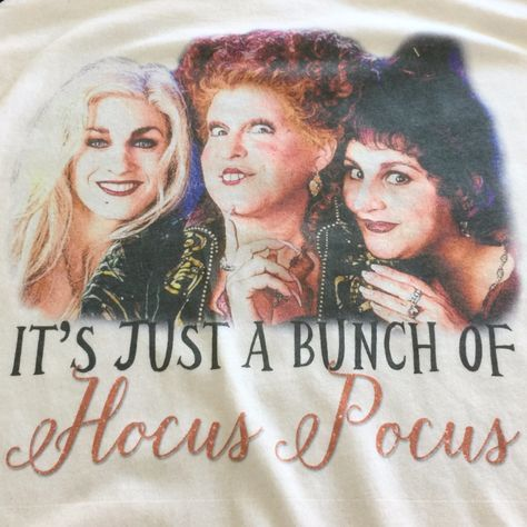 Hocus Pocus Halloween Sanderson Sisters I Put A Spell On You Unisex Baseball Shirts
