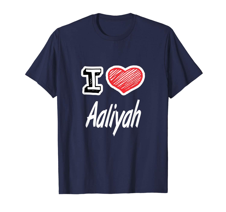 Heart Aaliyah Shirts