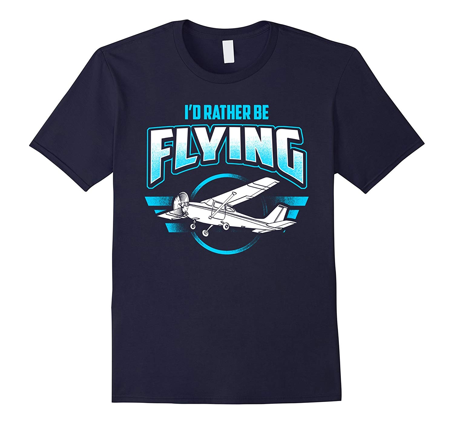 Id Rather Be Flying Airplane Pilot Aviation Shirts