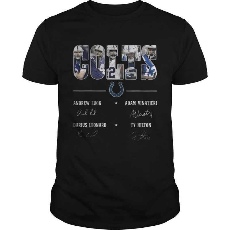Indianapolis Colts Team Names Signature Shirts