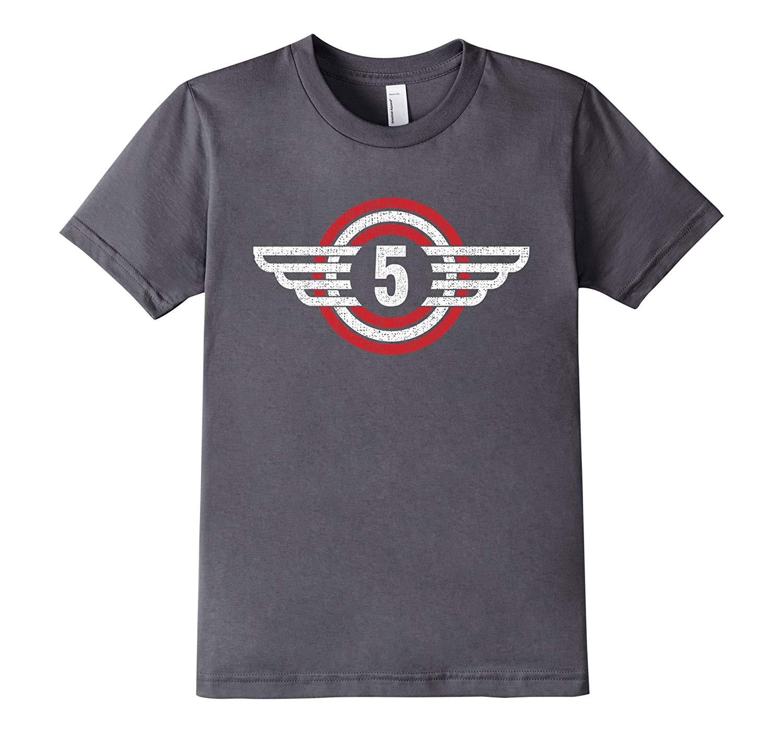 Little And Girls Superheros Fifth Birthday Shirts