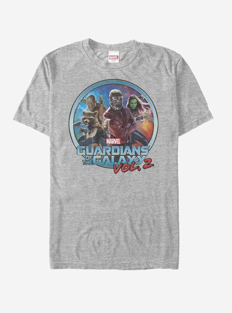 Guardians Of Galaxy Vol 2 Team Circle Shirts