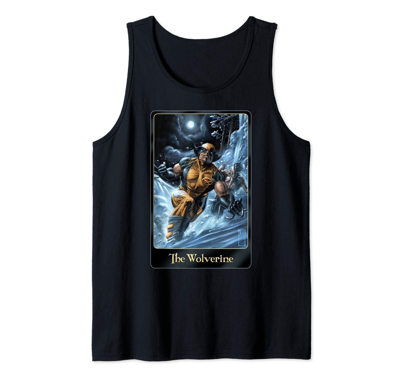 The Wolverine Tarot Card Portrait Shirts