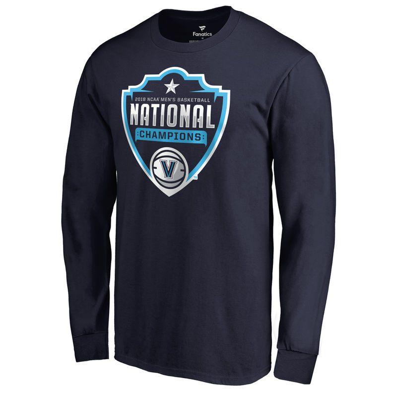 S Fanatics Branded Navy Villanova Wildcats 2018 Ncaa S Basketball National Champ Shirts