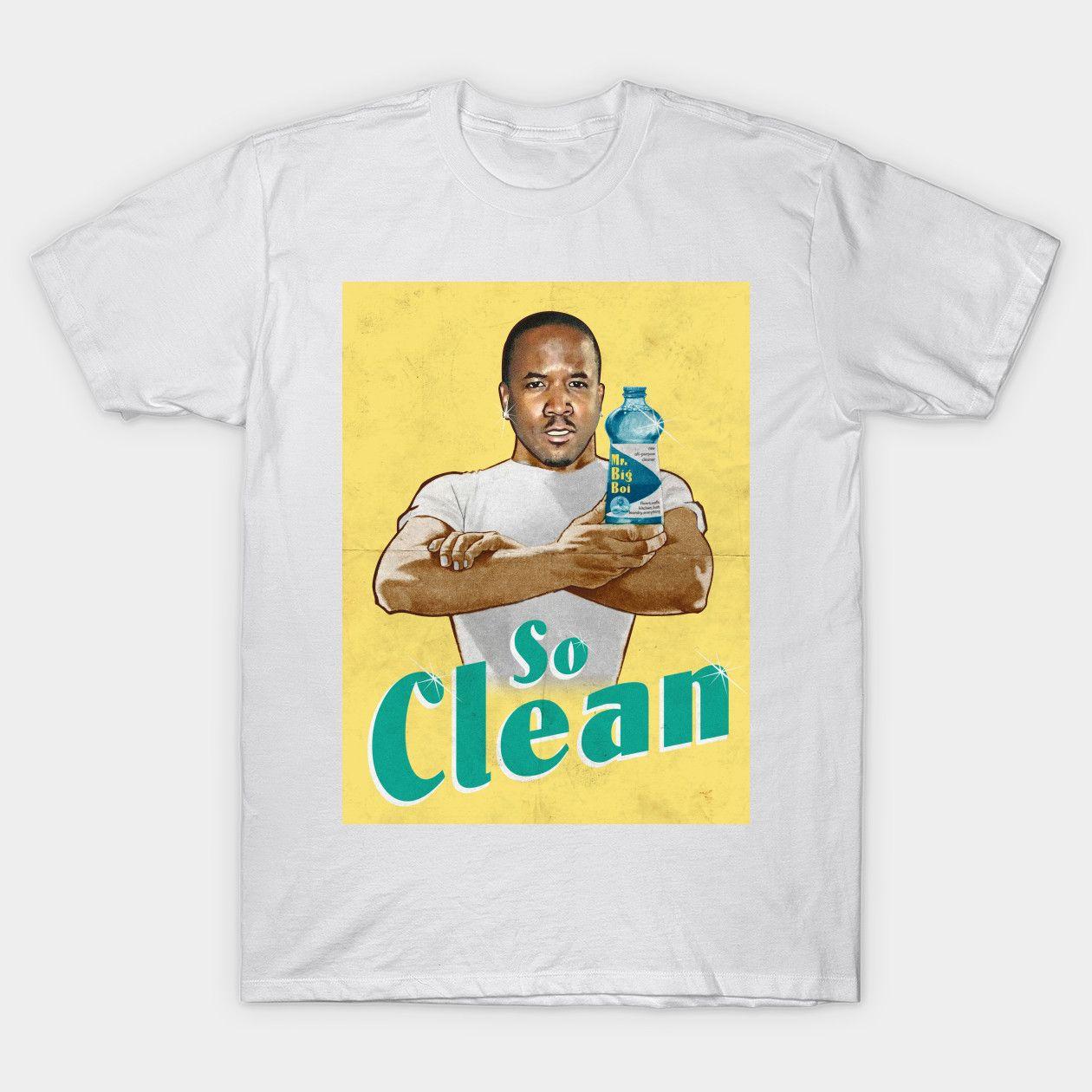 Mr Clean Vintage Ads Classic Shirts