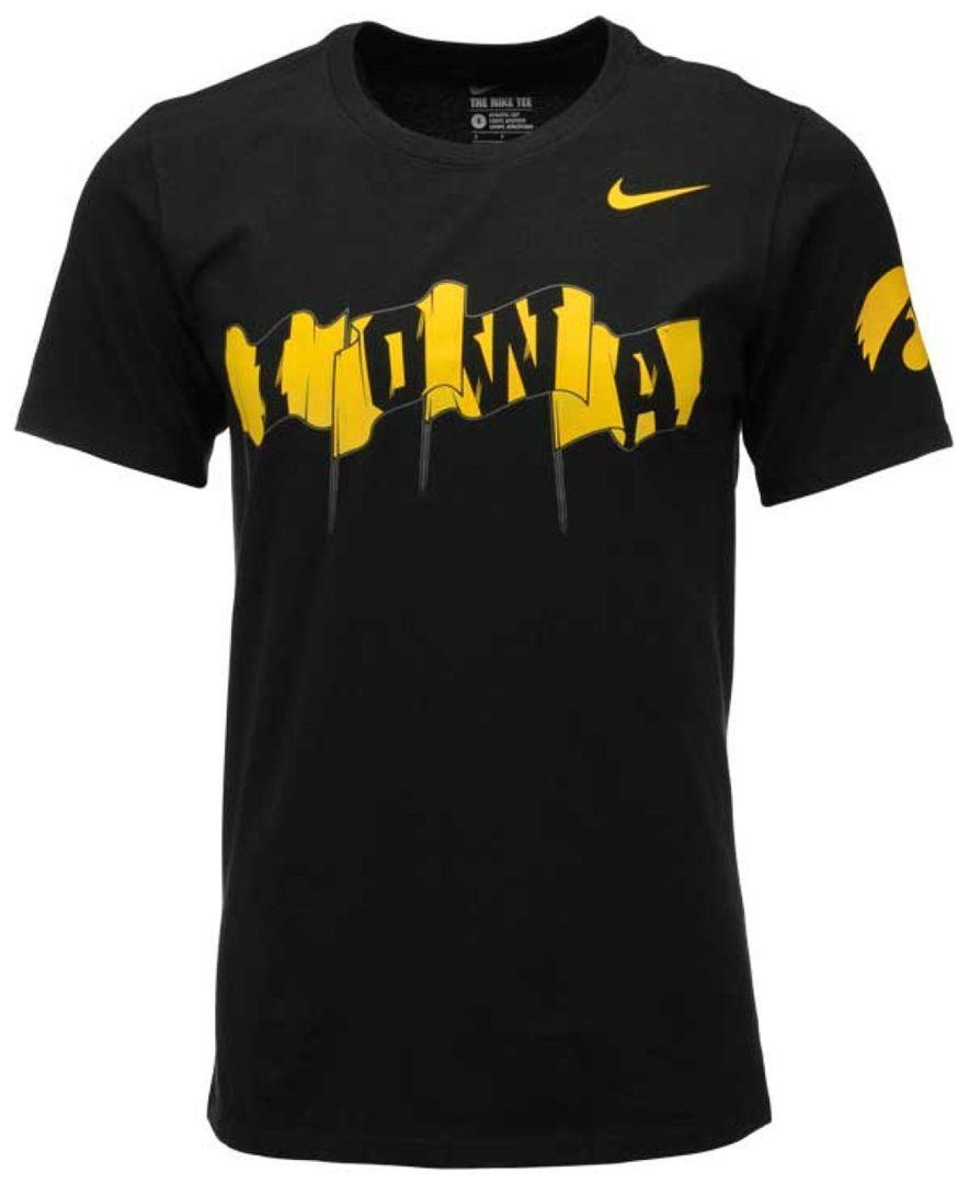 S Iowa Hawkeyes Campus Elets Shirts