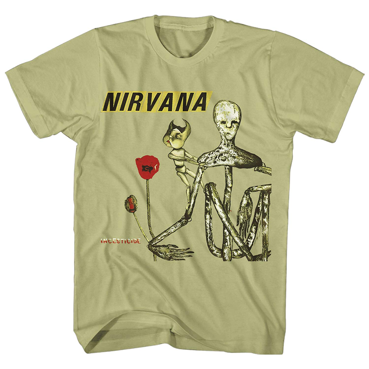 Nirvan A Insecticide Album Cover Adult Shirts
