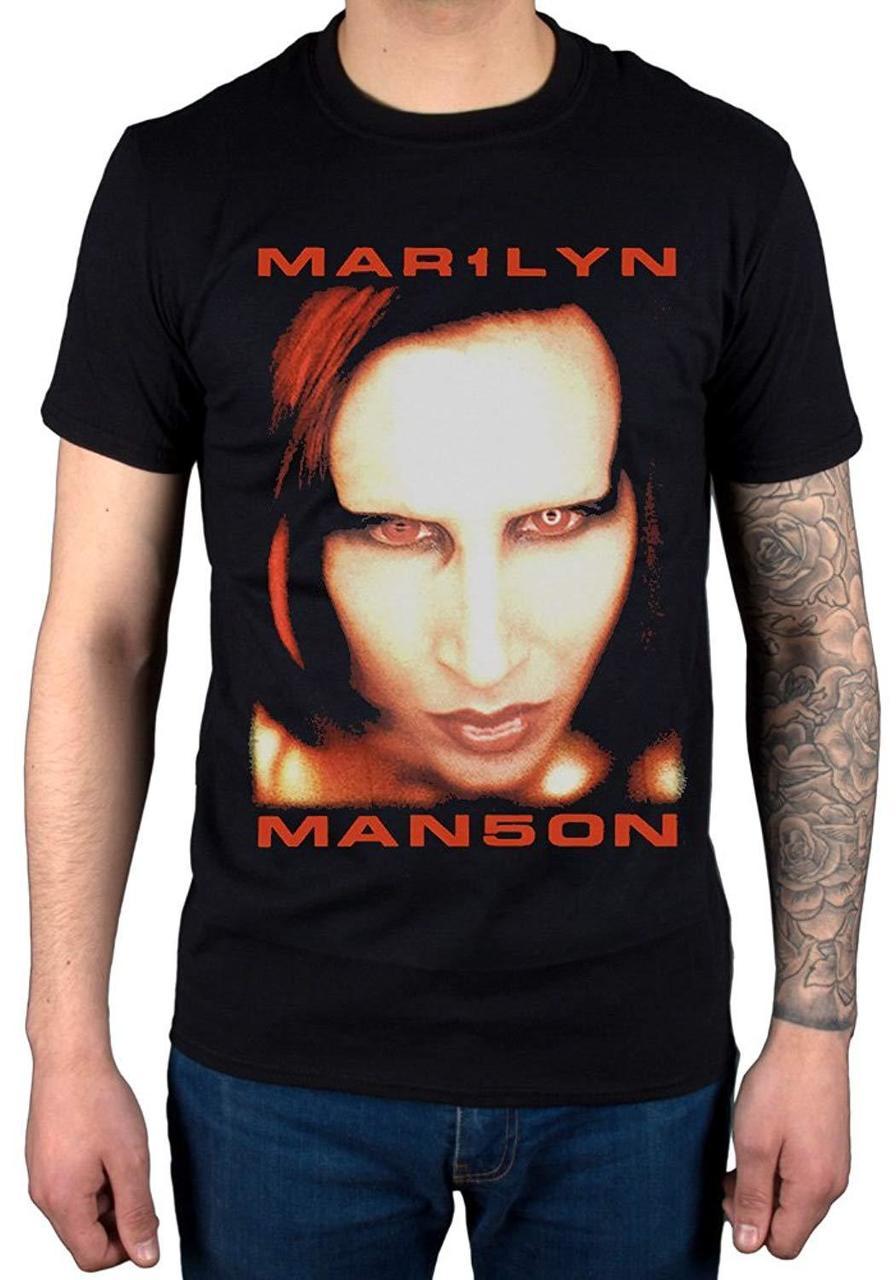 Marilyn Manson Bigger Than Satan Shirts