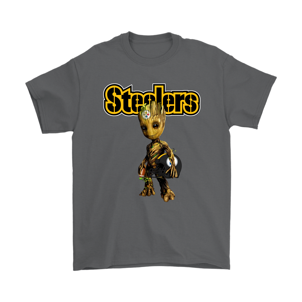 Pittsburgh Slers Guardians Of The Galaxy Groot Nfl Football Who Is Your Favorite Shirts