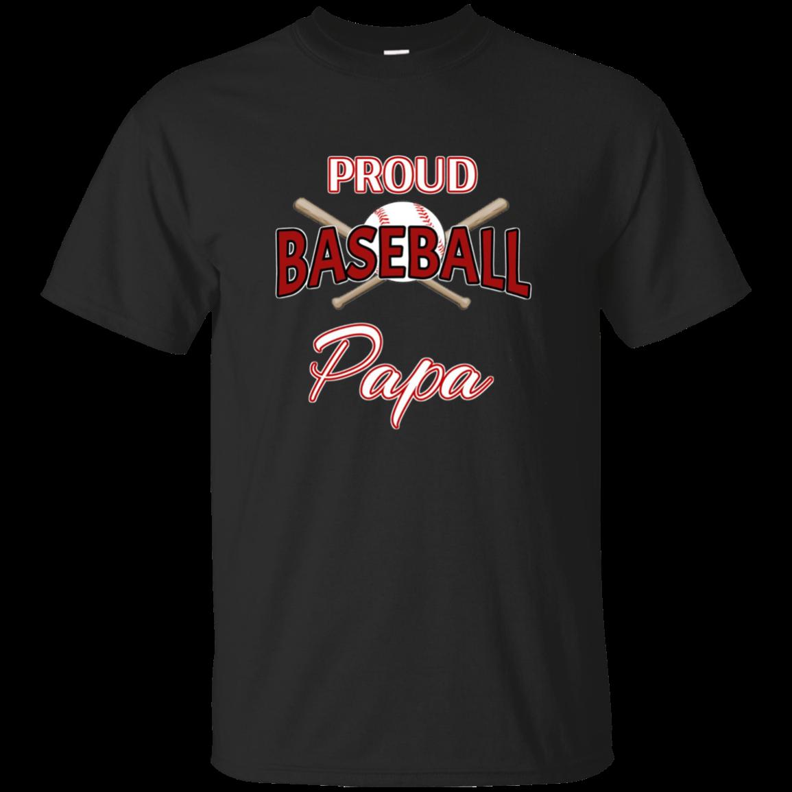 Proud Baseball Papa Shirt Baseball Papa Tshirt
