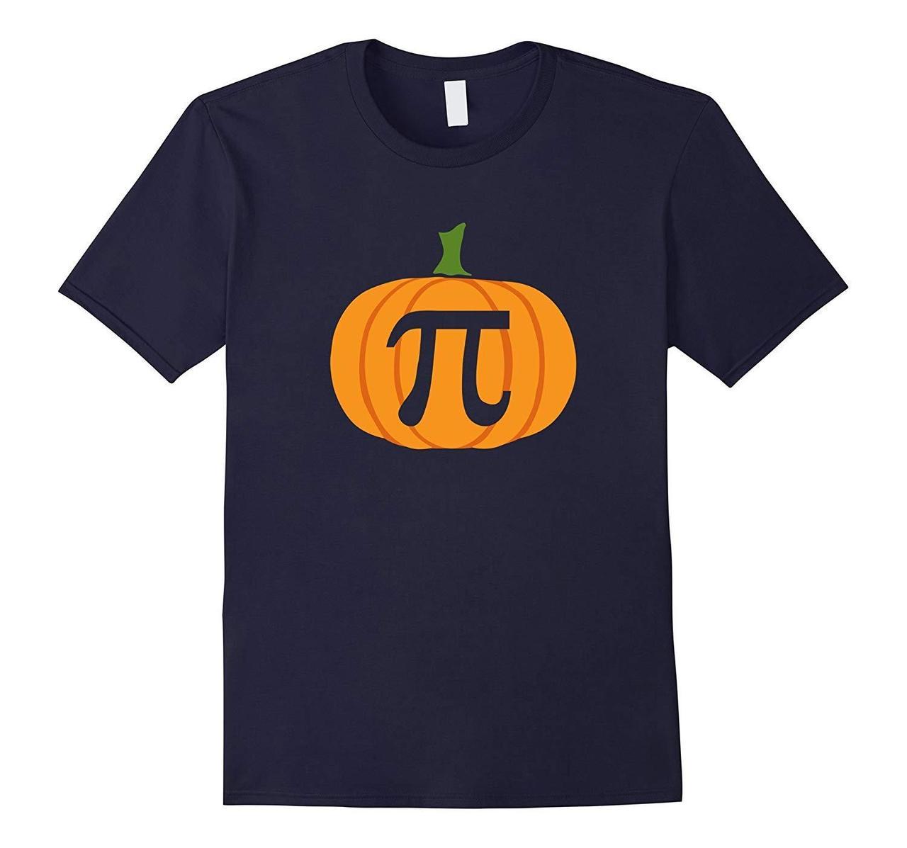 Pumpkin Pi Funny Math Halloween Gift For Shirts