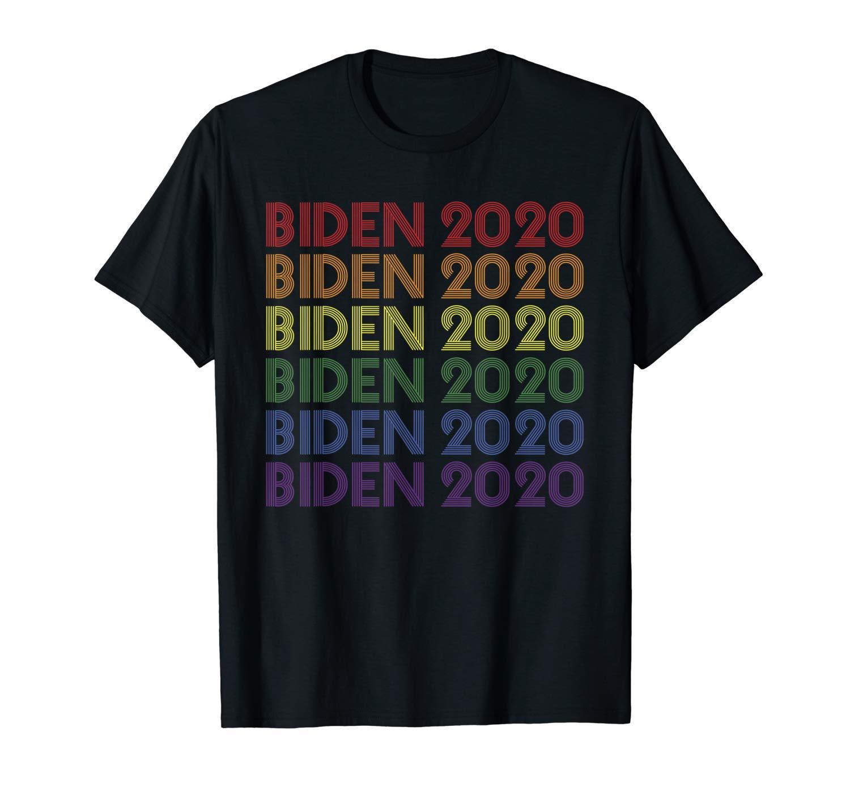 Rainbow Joe Biden Lgbt Pride Flag Biden 2020 Potus Shirts