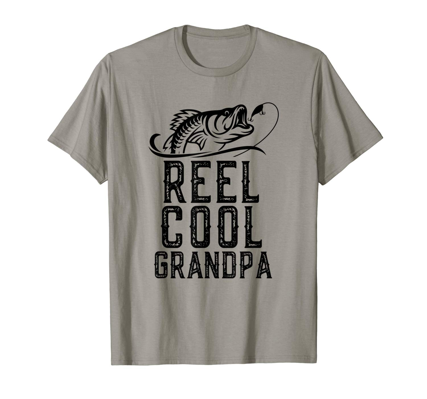 Reel Cool Grandpa Fishing Gift Father S Day Funny T Shirt