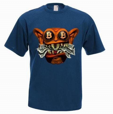 Size 2xl Unisex Feed Me Fiat Bitcoin Jafarshop Clothing On Artfire Shirts