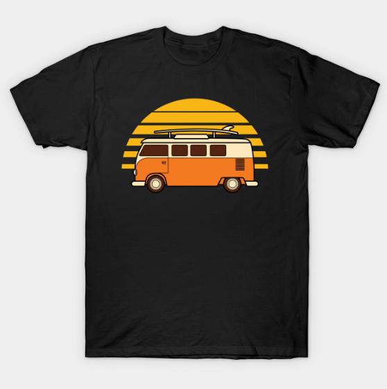 Sunset Van Shirts