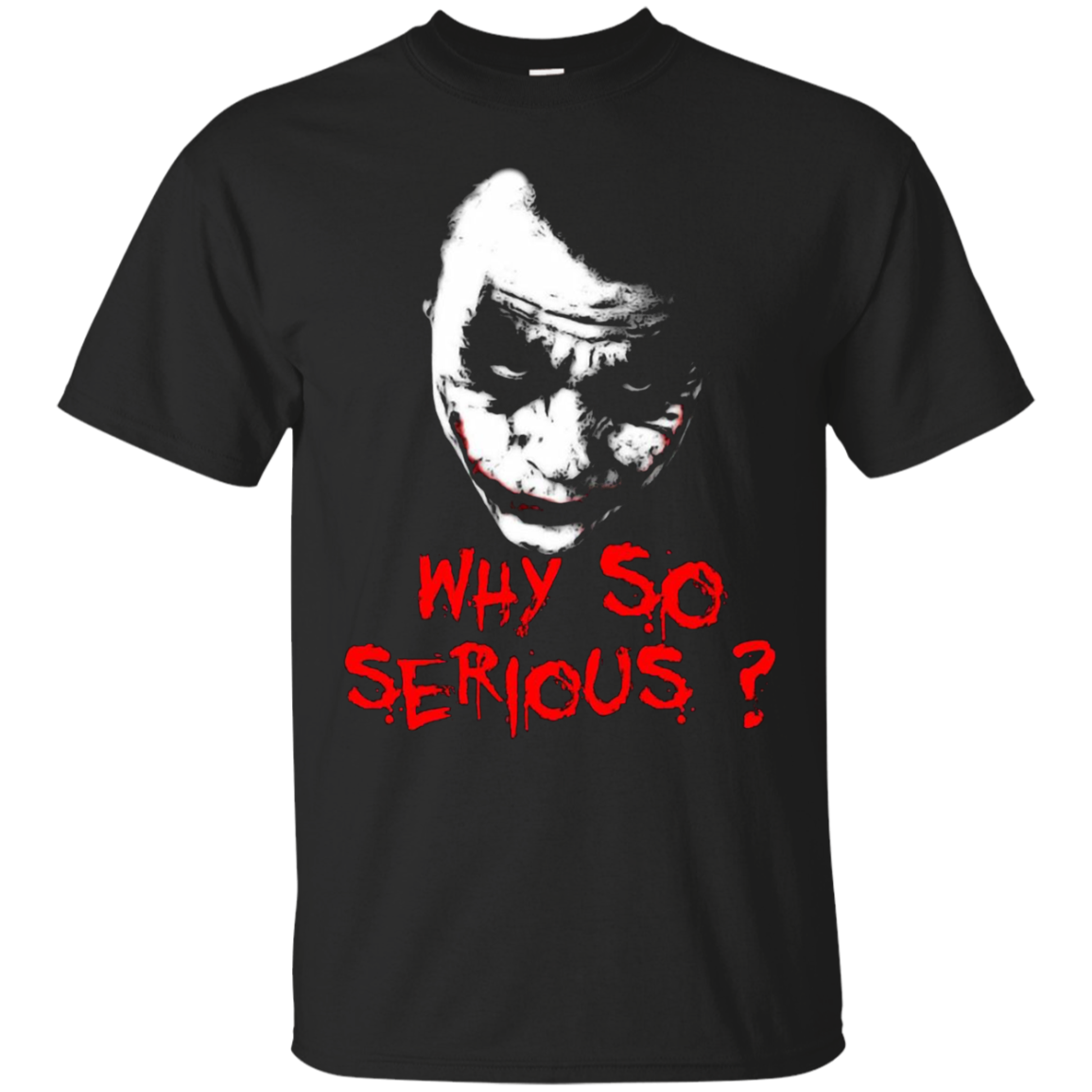 The Joker Why So Serious Shirts