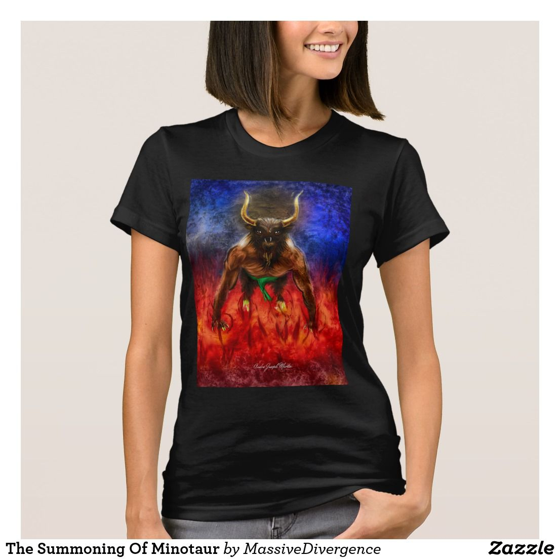 The Summoning Of Minotaur Shirts