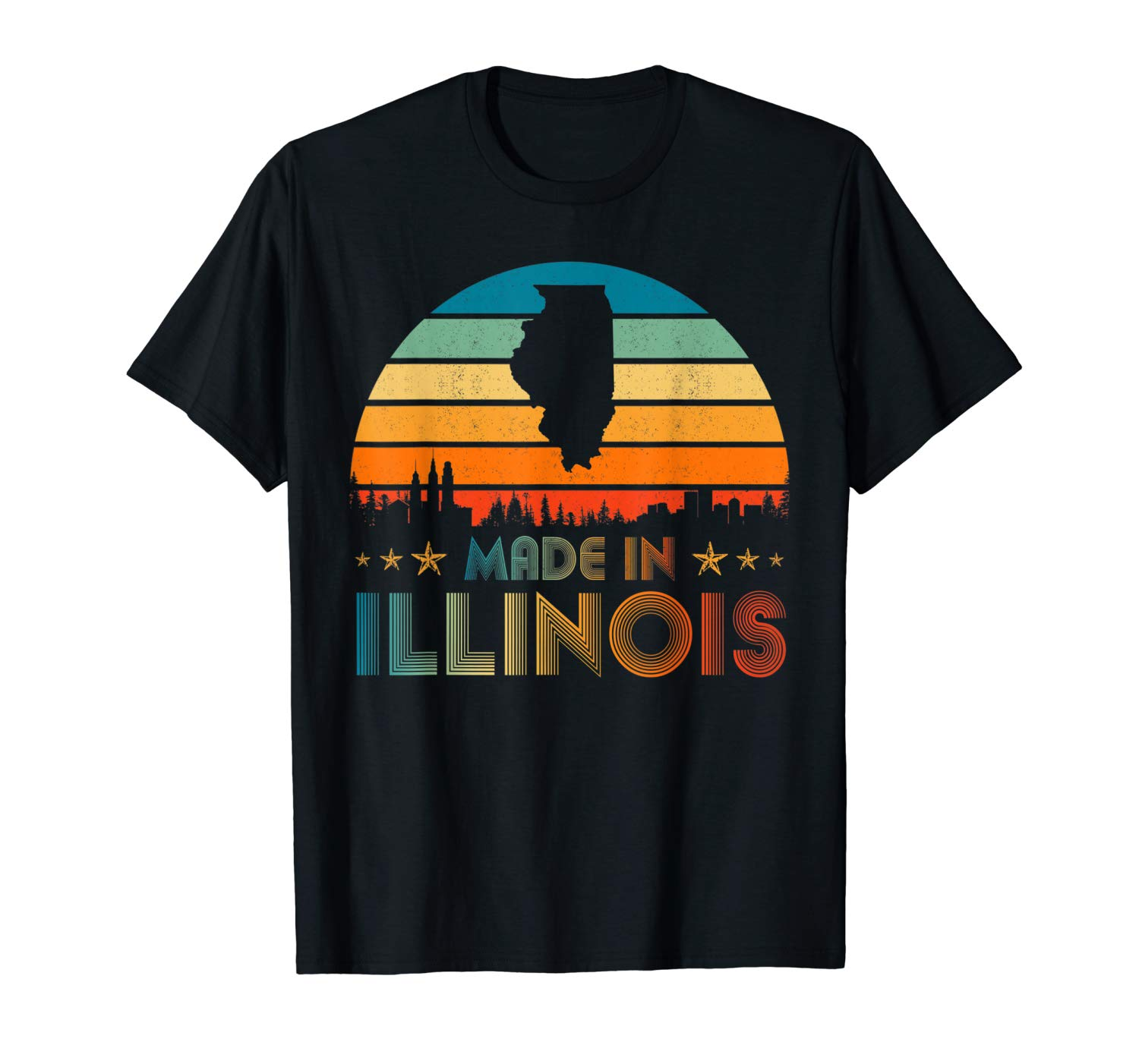Vintage Made In Illinois Shirts
