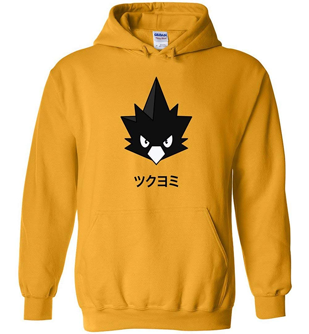95vibes Jetblack Hero Tokoyami Fumikage My Hero Academia Inspired Unisex Pullover M Shirts