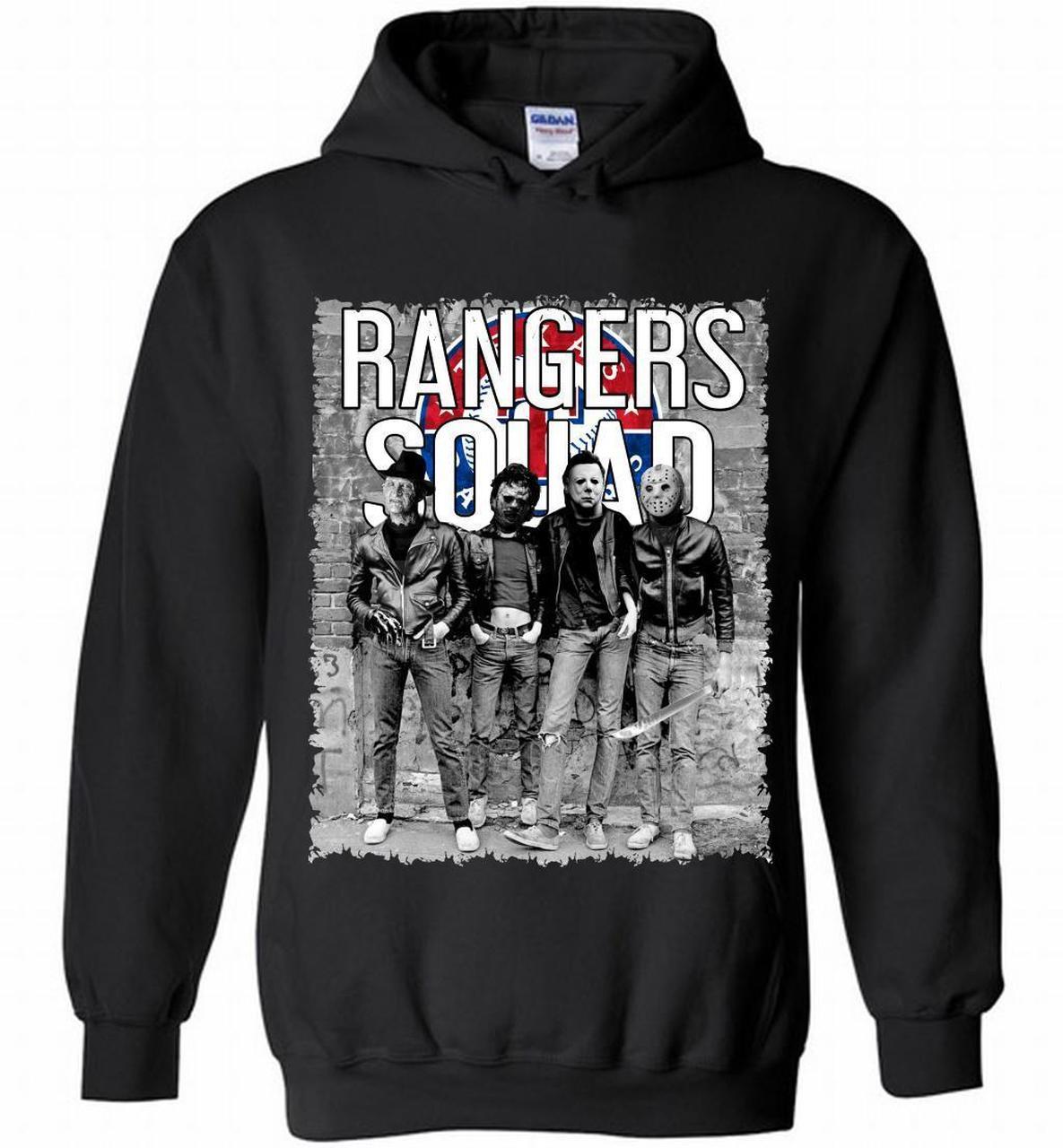 Halloween Freddy Jason Michael Myers Rangers Leatherface Squad 1489862364 Shirts