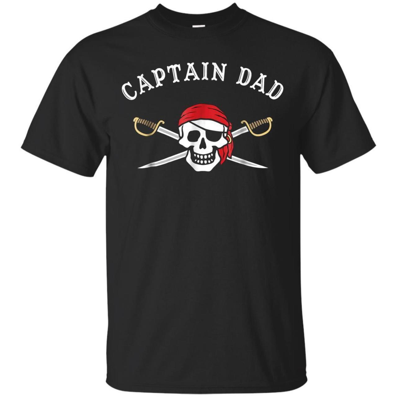 Captain Dad Funny Pirate 1252233802 Shirts