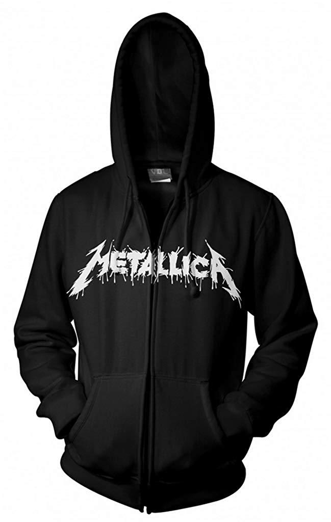 Metallica One Zip Up Shirts
