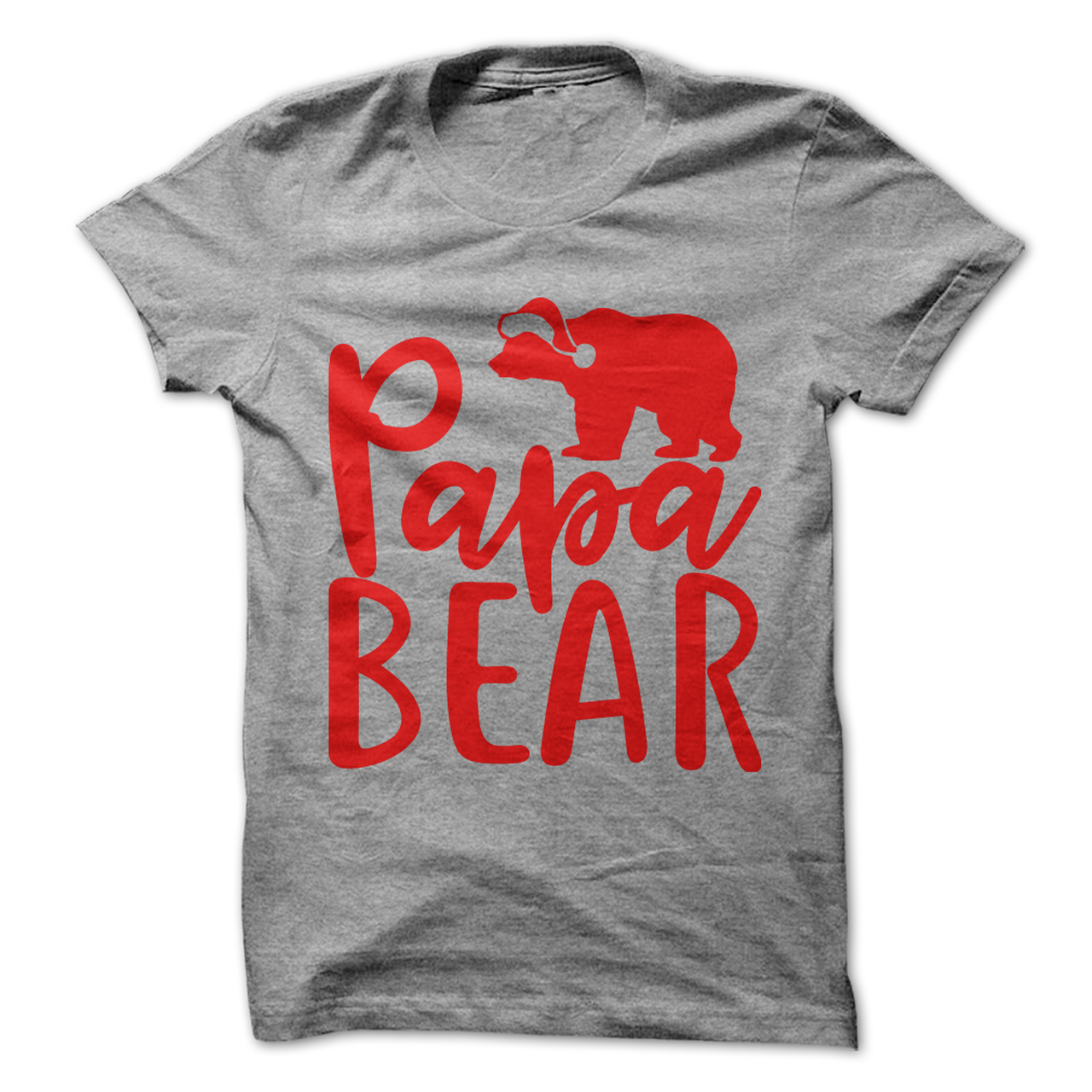 Papa Bear Christmas 1525883837 Shirts