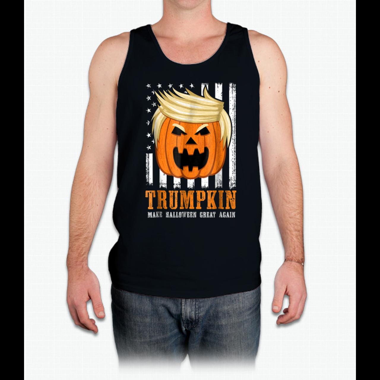 Usa Trumpkin Make Halloween Great Again Funny S 120857812 Shirts
