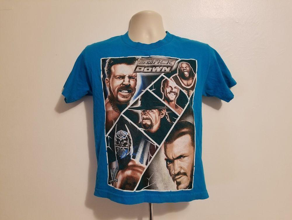 2012 Wwe Smackdown Blue Shirts