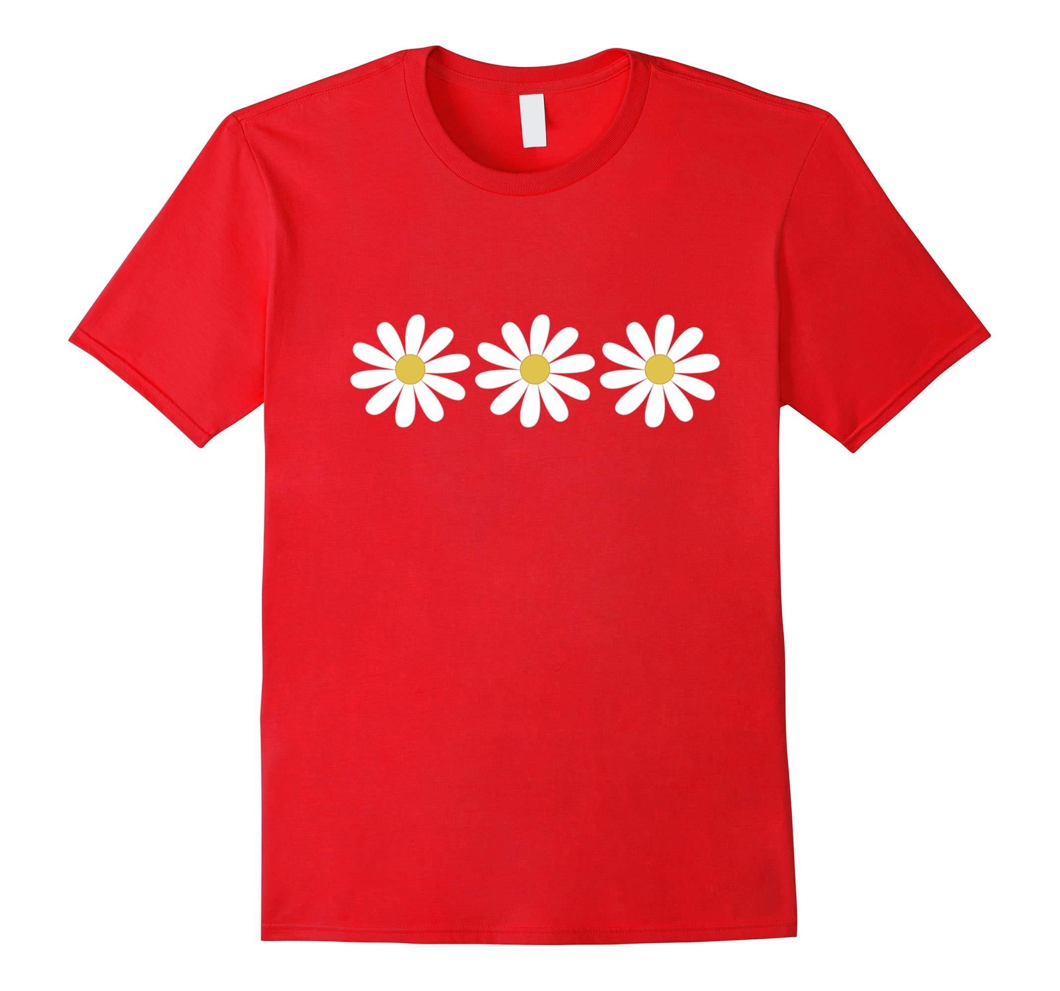 3 Simple But Pretty Daisy Flower T Shirt