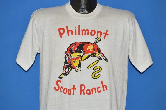 50s Philmont Scout Ranch New Mexico Boy Scouts Shirts
