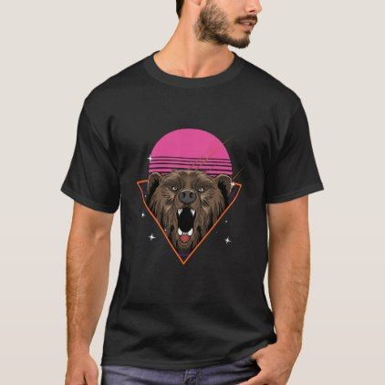 80s Grizzly Bear Retro Gift Vintage Brown Bear Shirts