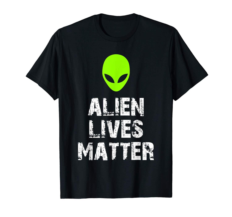 Alien Lives Matter Funny Halloween T Shirt