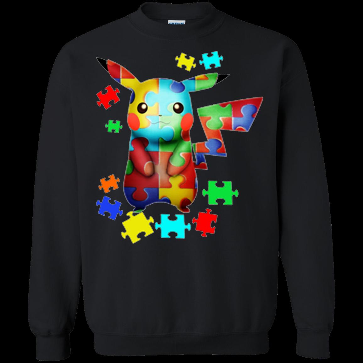 Autism Pikachu T Shirt