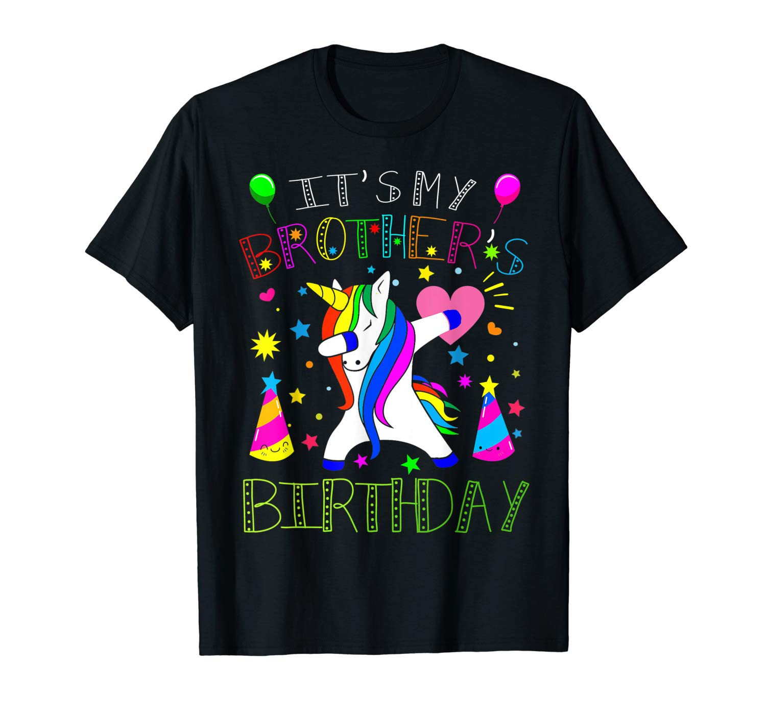 Awesome It S My Brother S Birthday Gift Tshirt For Love