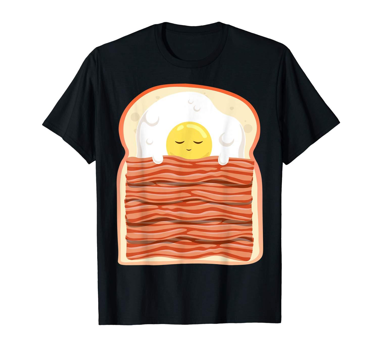 Bacon Eggs Toast Cute Breakfast Shirt