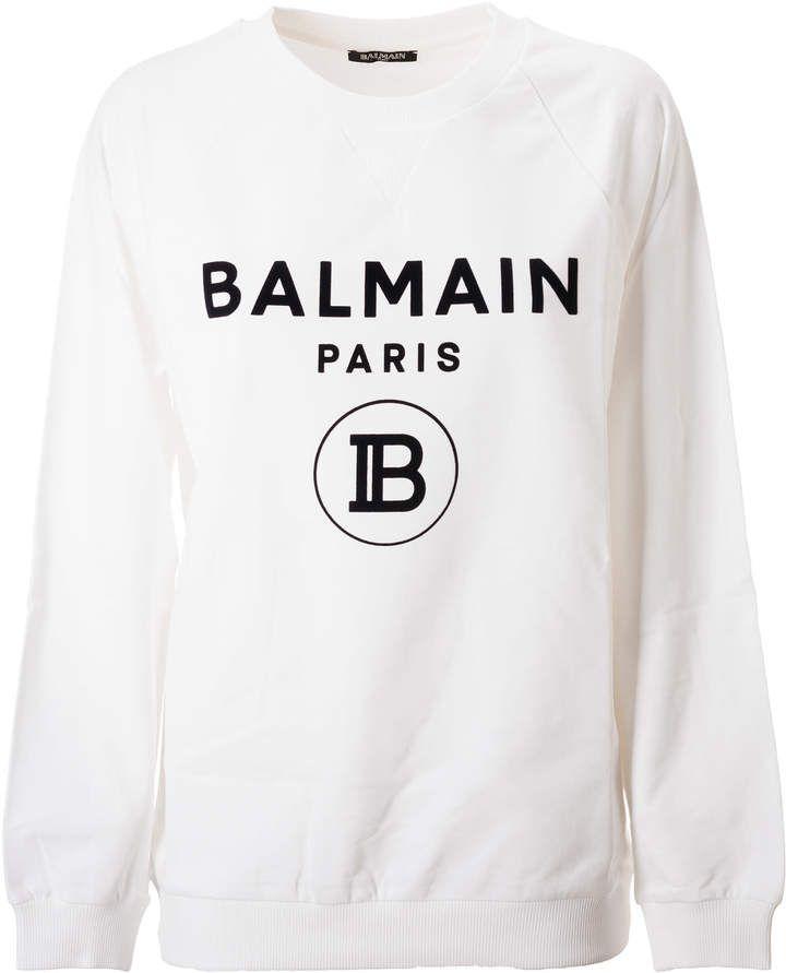 Balmain Logo Print Shirts